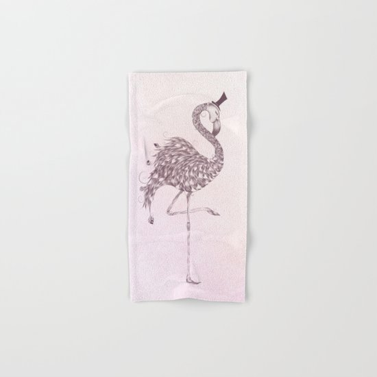 Flamingo Hand & Bath Towel