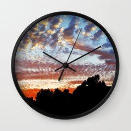 Sunset At Marbella Golf & Country Club Wall Clock