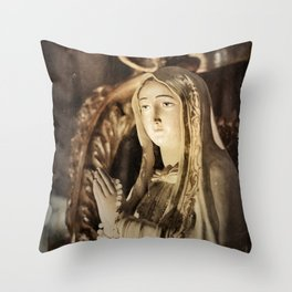 Pearls of Light Throw Pillow