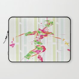 pixel dancer Laptop Sleeve