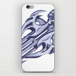 Blades iPhone Skin