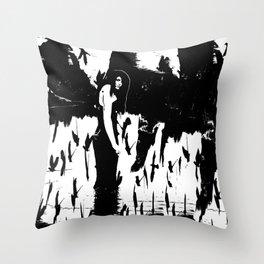 Rusalka:  Demon Witch of the Vasyugan Swamp Throw Pillow