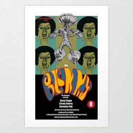 The Blummy Art Print