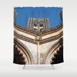 Batalha monastery, Portugal (RR 191) Analog 6x6 odak Ektar 100 Shower Curtain