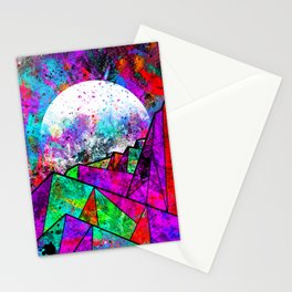 As a new planet is born Stationery Cards