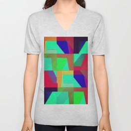Colorful Truth. Green. Unisex V-Neck
