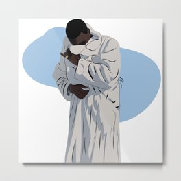 Trap God Metal Print