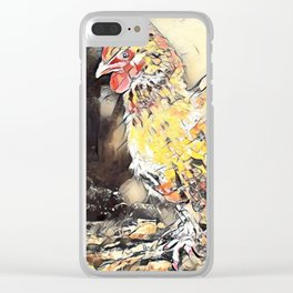 Chicken Clear iPhone Case