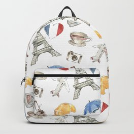 paris travel diary Backpack
