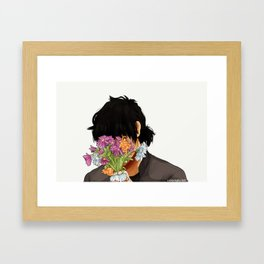 Son of Hades - Wilting Framed Art Print