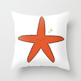Cute Star Throw Pillow