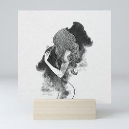 The gates of darkness. Mini Art Print