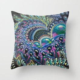 My Dark Companion Throw Pillow