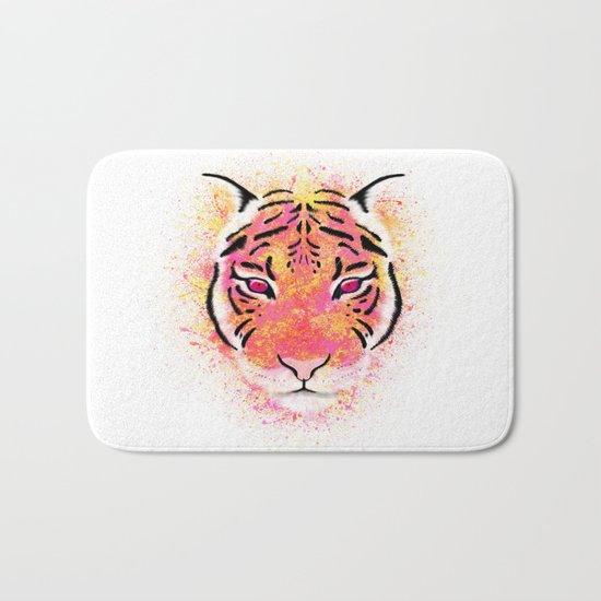 Sherbet Tiger Bath Mat