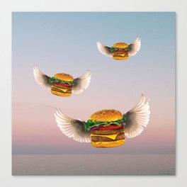 Bob's Burger Birds Canvas Print