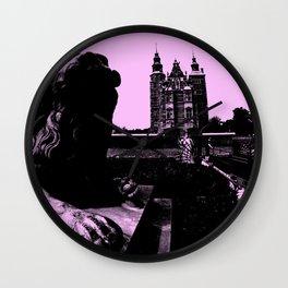 The Rosenborg Castle in Copenhagen, Denmark Wall Clock