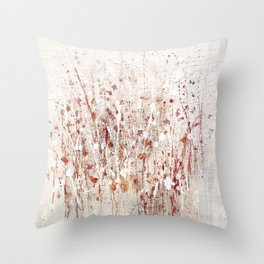 little rose Throw Pillow