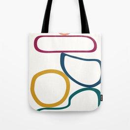 Colorful Flow IV Tote Bag