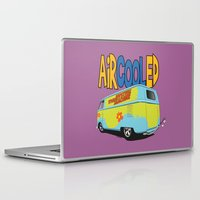 vw bus Laptop & iPad Skins featuring VW Camper Drag Bus by VelocityGallery
