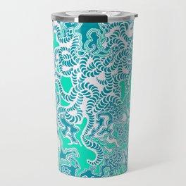 Cells Blue Travel Mug