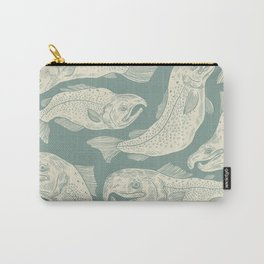 Great Lakes Salmon Carry-All Pouch