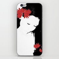 girly iPhone & iPod Skins featuring girly by annemiek groenhout