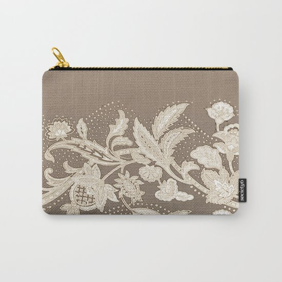 old lace border Carry-All Pouch