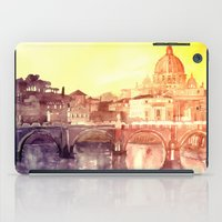 rome iPad Cases featuring Rome by takmaj