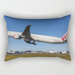 Virgin Australia 777-300ER Rectangular Pillow