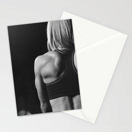 Gym Beauty Motivation Stationery Cards