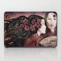 sisters iPad Cases featuring Sisters by Marine Loup
