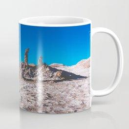 Las Tres Marías (Valle de la luna) - The three Marias Valley of the Moon, Atacama Desert, Chile Coffee Mug