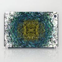 geode iPad Cases featuring Geode Abstract 01 by Charma Rose