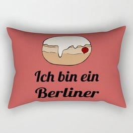 Ich bin ein Berliner Rectangular Pillow