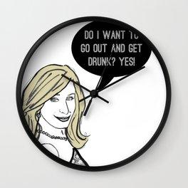 Drunk Wall Clock
