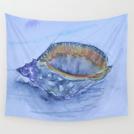 Helmet Shell -Galeodea echinophora- Wall Tapestry