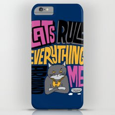 C.R.E.A.M. Cats Rule Everything Around Me Slim Case iPhone 6s Plus