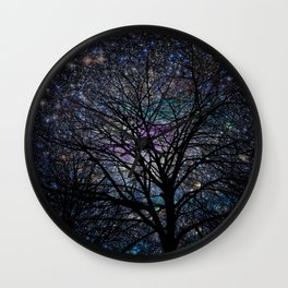 gorgeous darkness Wall Clock