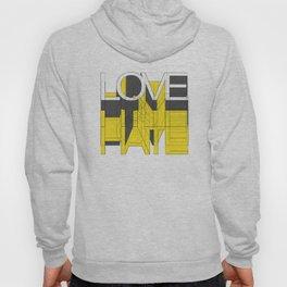 HATE LOVE Hoody
