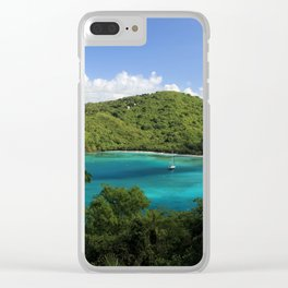 Maho Bay Clear iPhone Case