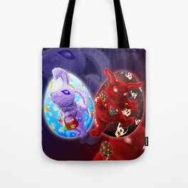 Easter - Angelic VS Evil Tote Bag