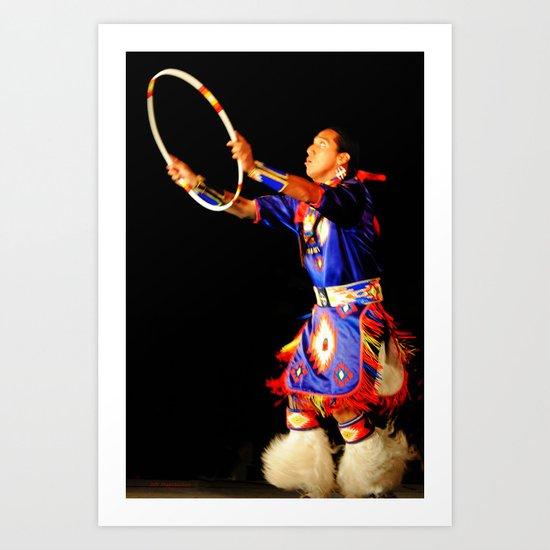 Hoop Dancer II Art Print