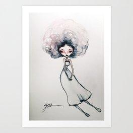 Gigi Art Print