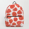 Watercolor raspberry pattern by katerinamitkova