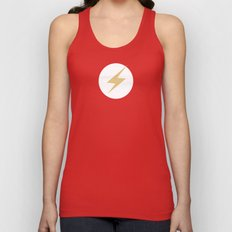 The Flash Vector Logo Unisex Tank Top