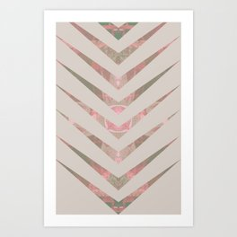 chiak rose Art Print