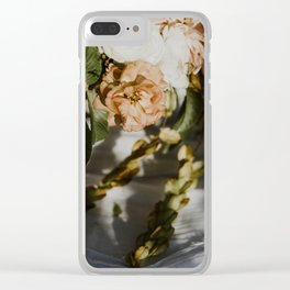 In The Mood For Romance - Fall Clear iPhone Case