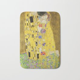 The Kiss - Gustav Klimt, 1907 Bath Mat