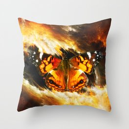 The nectar of the universe Throw Pillow