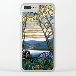 Louis Comfort Tiffany - Decorative stained glass 5. Clear iPhone Case